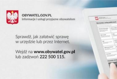 Obywatel GOV - Informacje i usługi przyjazne obywatelom