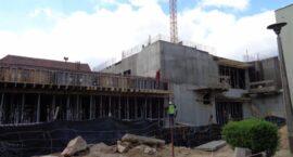 Powstaje już drugie piętro szpitala