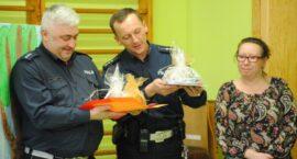 Wielkie serca policjantów