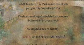 Warsztaty modelarskie w MDK nr 2