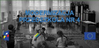 Modernizacja przedszkola NR 4 w Piekarach Śląskich