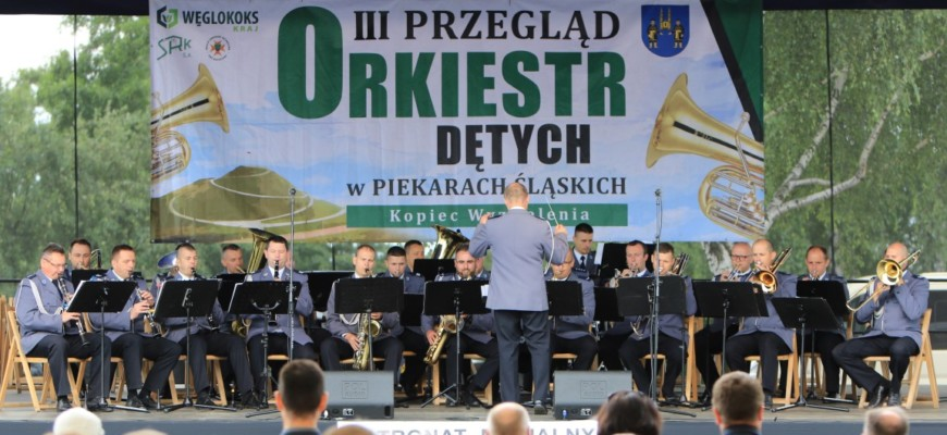 Fotorelacja z III Przeglądu Orkiestr Dętych w Piekarach Śląskich