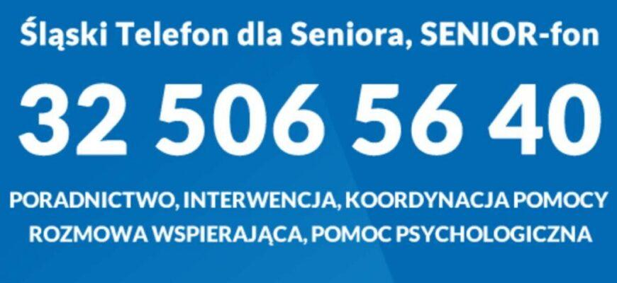 SENIOR-fon służy wsparciem w czasach epidemii