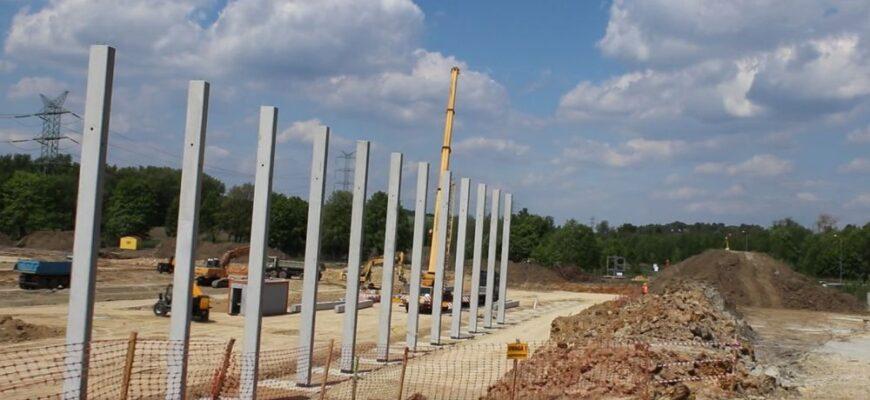 Centrum logistyczne Hillwood powstaje w ekspresowym tempie