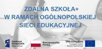 Zdalna szkoła w ramach ogólnopolskiej sieci edukacyjnej - Miasto Piekary Śląskie