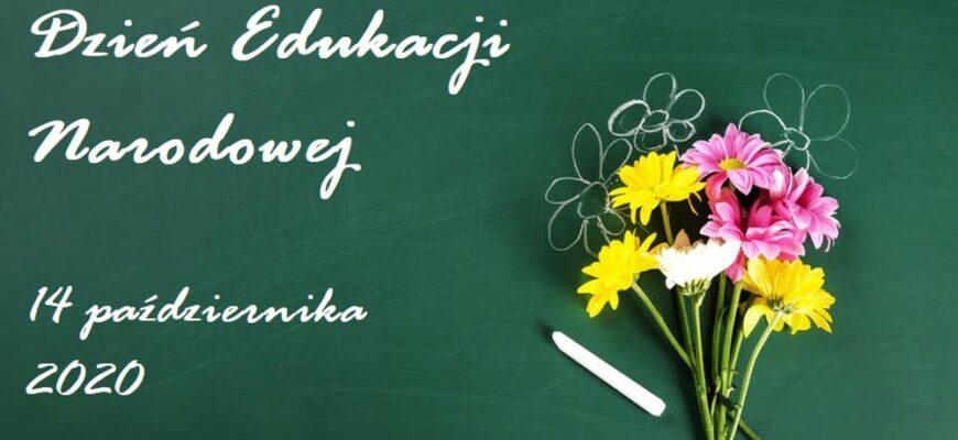Życzenia w Dniu Edukacji Narodowej