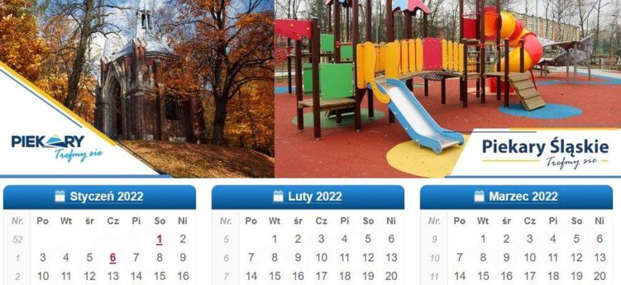 Wykonaj zdjęcia do piekarskiego kalendarza na 2022 rok