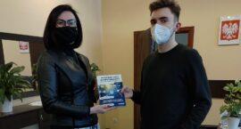 Uczeń ZS1 wydał książkę