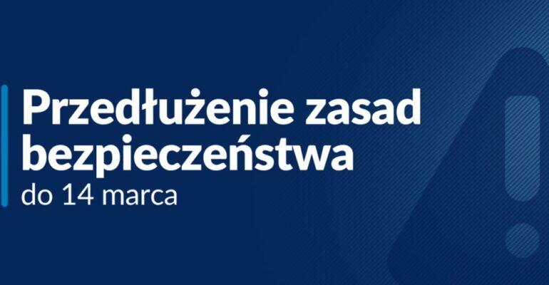 Zasady zachowania w związku z koronawirusem [AKTUALIZACJA 27.02.2021]