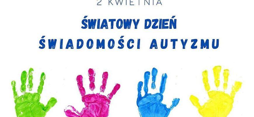 Uczniowie włączają się w obchody Dnia Autyzmu