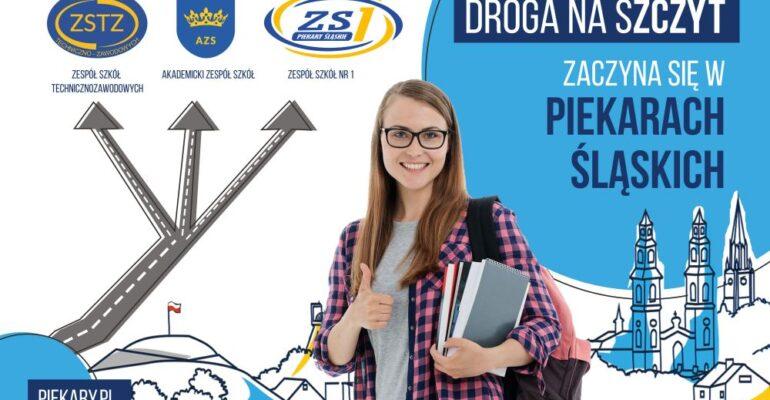 Droga na szczyt zaczyna się w Piekarach - wybierz naszą szkołę