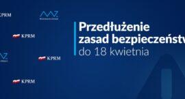 Zasady zachowania w związku z koronawirusem [AKTUALIZACJA 9.04.2021]