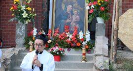 Tradycyjne nabożeństwo przed kaplicą Maria Hilf