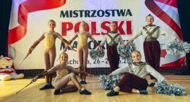 Mażoretki Azaria z sukcesami na Mistrzostwach Polski