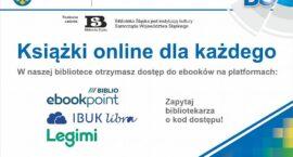 Biblioteka zapewnia dostęp do e-booków