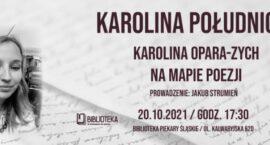 Spotkanie z Karoliną Oparą-Zych w MBP